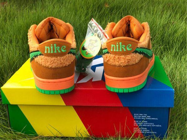 Grateful Dead Nike SB Dunk Low heel