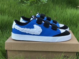 Kevin Bradley x Nike SB Blazer Low Heaven Battle Blue CT4594-400