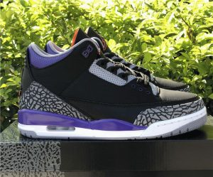 New Air Jordan 3 Court Purpl 2020