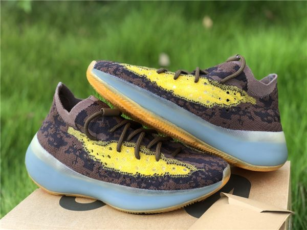 adidas Yeezy Boost 380 LMNTE Earthy Brown Yellow