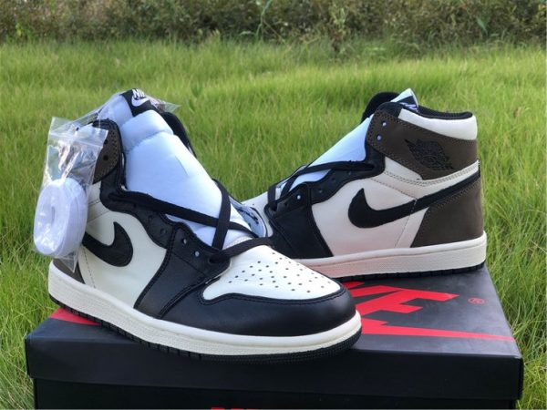 2020 Air Jordan 1 Dark Mocha sneaker
