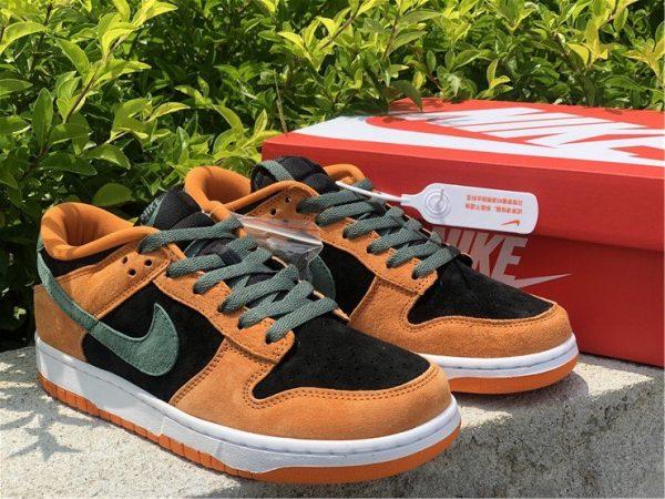 Brand New Nike Dunk Low Ceramic Orange