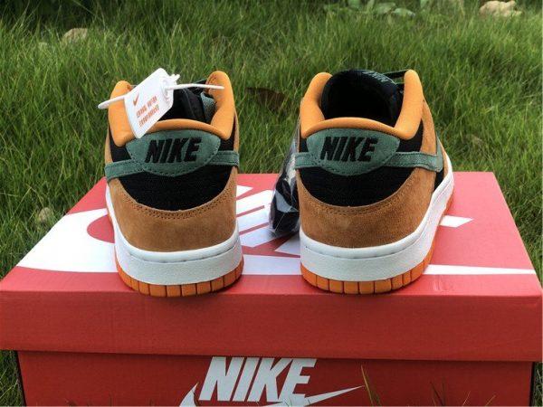 Nike Dunk Low Ceramic Orange Heel
