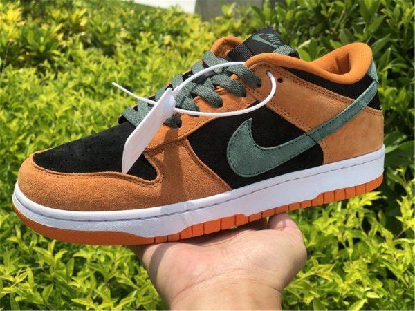 Nike Dunk Low Ceramic Orange On-hand