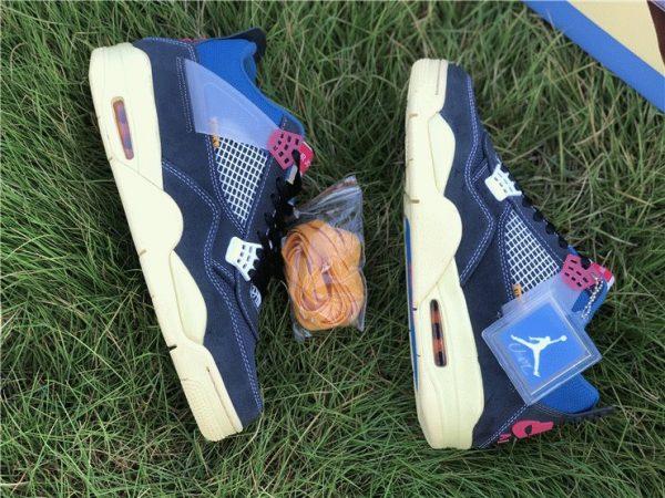 Union x Air Jordan 4 Off-Noir sneaker