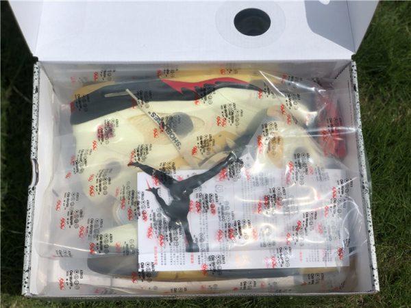 new Air Jordan 5 Off-White Sail in box