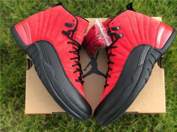 2020 Air Jordan 12 Reverse Flu Game shoes