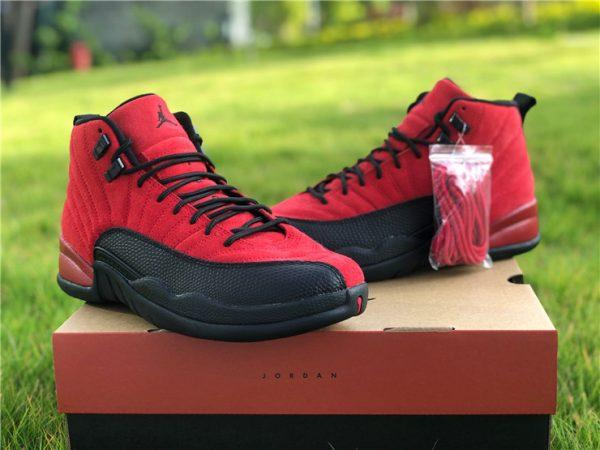 2020 Air Jordan 12 Reverse Flu Game sneaker