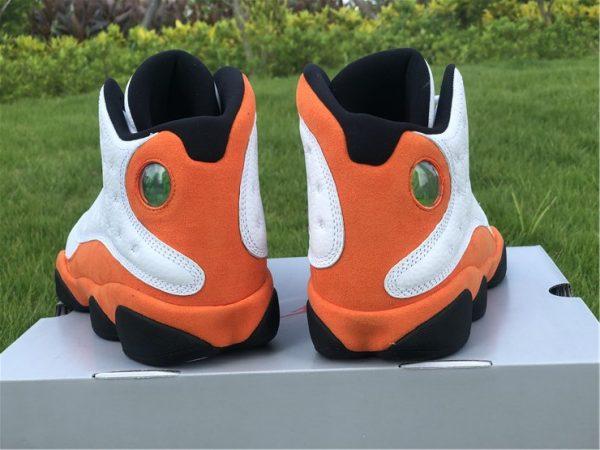 2021 Air Jordan 13 Starfish Orange heel