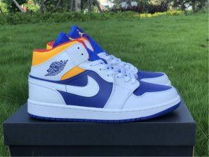 Air Jordan 1 Royal Blue Laser Orange