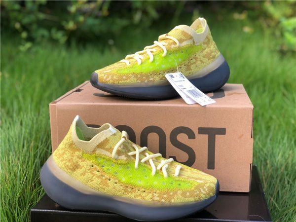 FZ4990 adidas Yeezy Boost 380 Hylte Glow