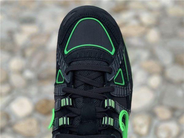 Nike Air Rubber Dunk Off-White Green Strike black