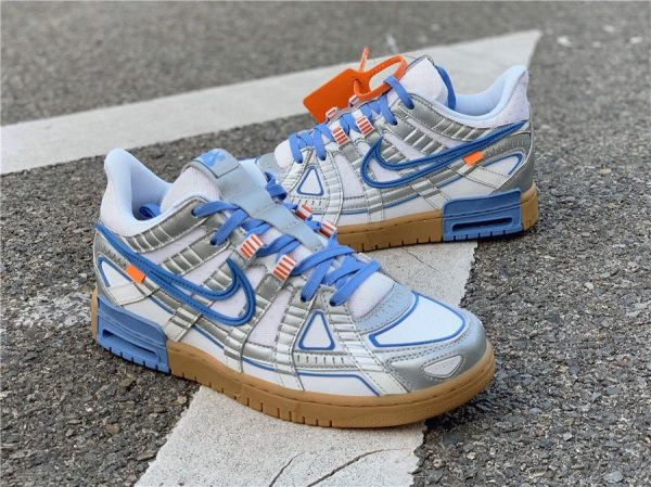 Nike Air Rubber Dunk Off-White UNC sneaker