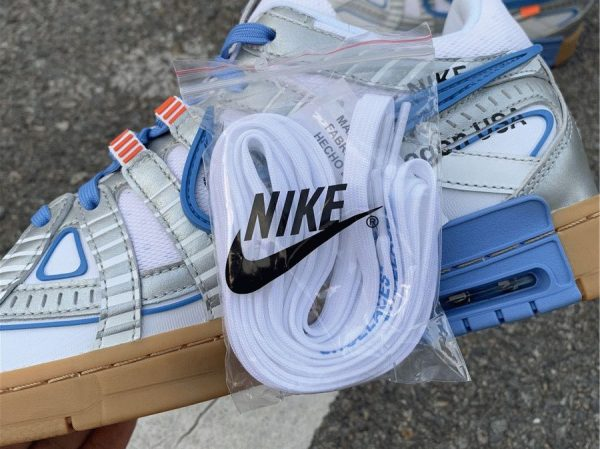 Nike Air Rubber Dunk Off-White laces