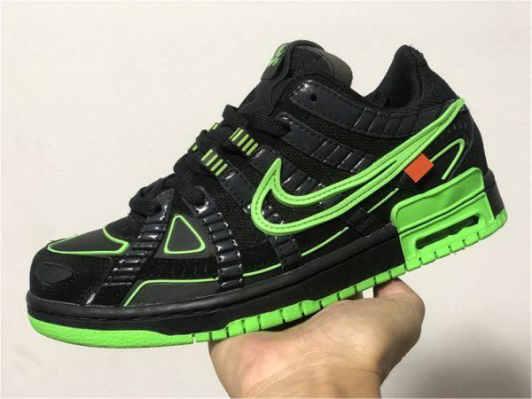 Off-White Nike Air Rubber Dunk Green Strike