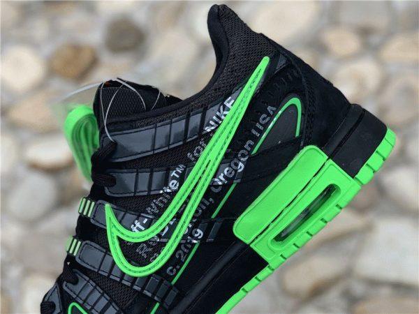 Off-White x Air Rubber Dunk Green Strike Nike