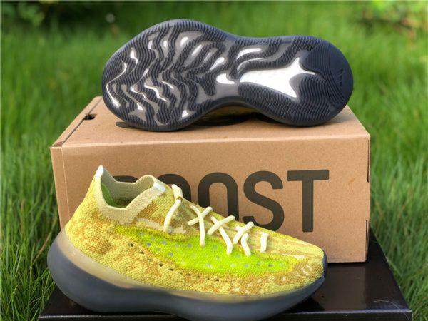 adidas Yeezy Boost 380 Hylte Glow bottom