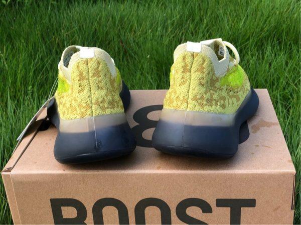 adidas Yeezy Boost 380 Hylte Glow heel