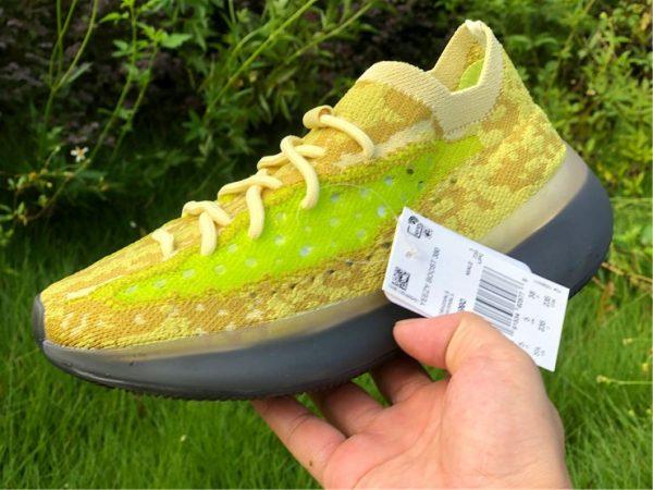 adidas Yeezy Boost 380 Hylte Glow on hand