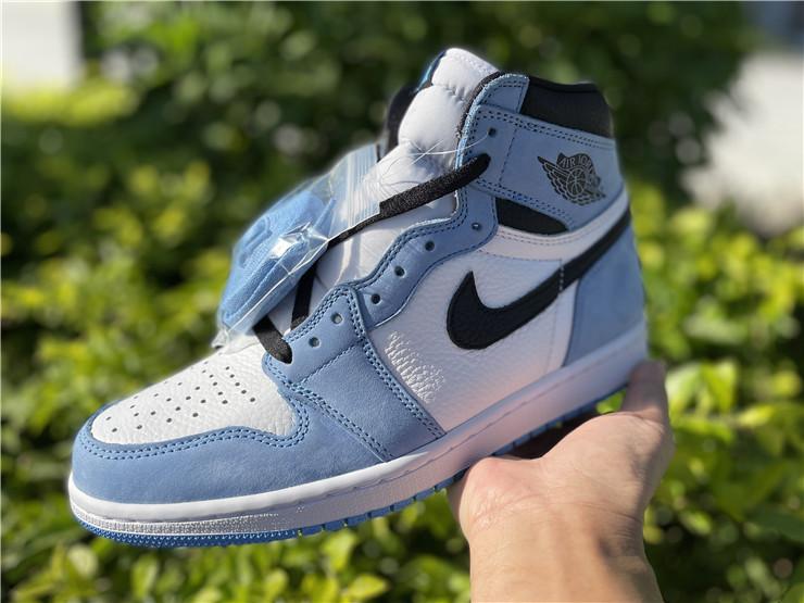 Air Jordan 1 High OG University Blue on hand