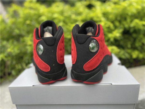 Air Jordan 13 Reverse Bred black heel