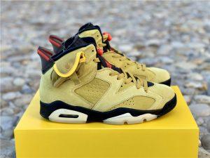 Air Jordan 6 X Travis Scott Yellow