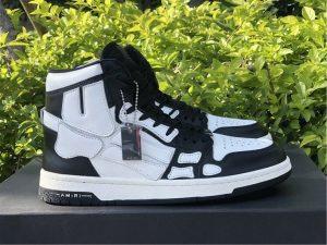 Amiri Skel High-Top Black White Sneaker