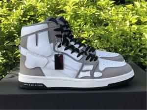 Amiri Skel High-Top Sneakers Grey