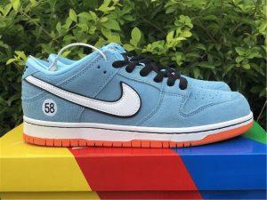 Nike SB Dunk Low 58 Blue Chill Safety Orange