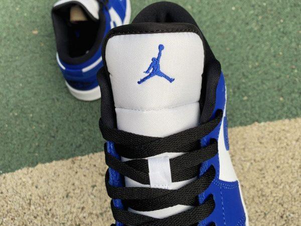 Air Jordan 1 Low Game Royal tongue