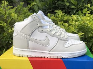 Nike Dunk High Retro White Vast Grey