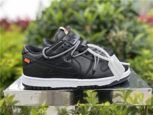 Off-White Nike SB Dunk Low All Black Anthracite