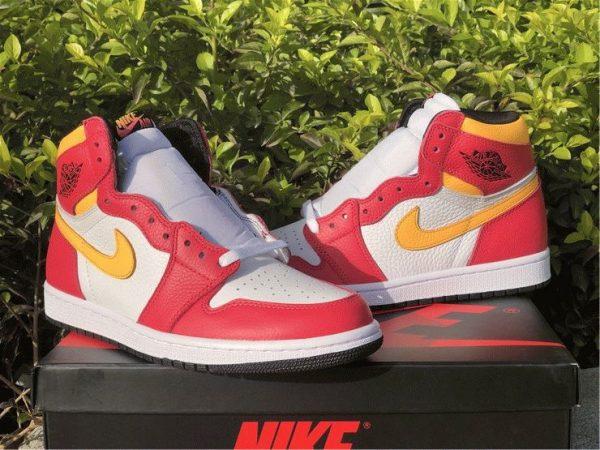shop Air Jordan 1 High OG Light Fusion Red