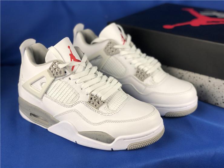 2021 Air Jordan 4 White Oreo