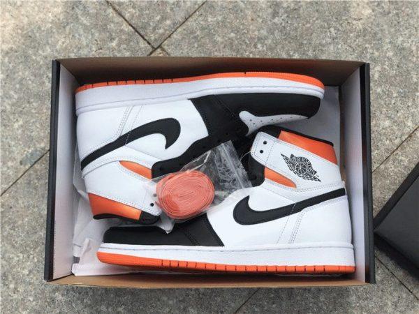 Air Jordan 1 High OG GS Electro Orange in box