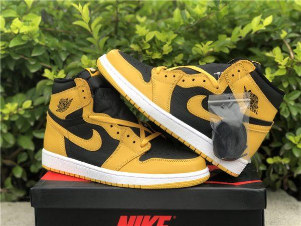 Air Jordan 1 High OG Pollen black yellow