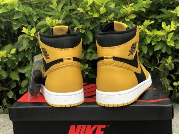 Air Jordan 1 High OG Pollen heel