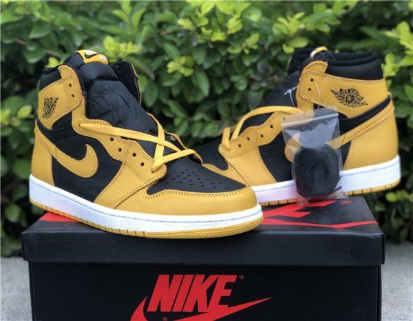 Air Jordan 1 High OG Pollen shoelaces