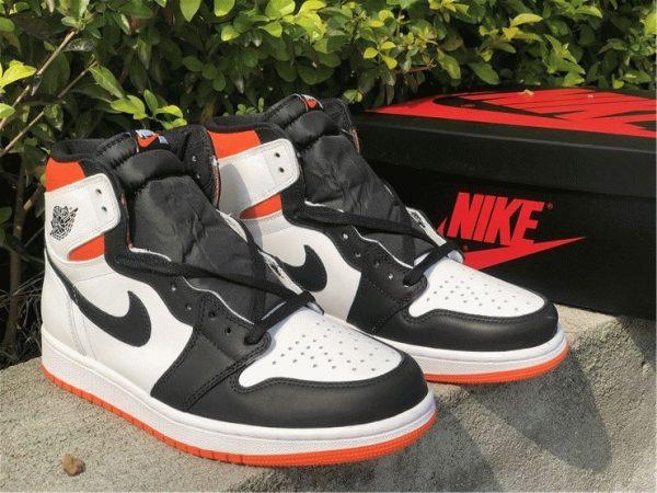 Jordan 1 High OG GS Electro Orange black
