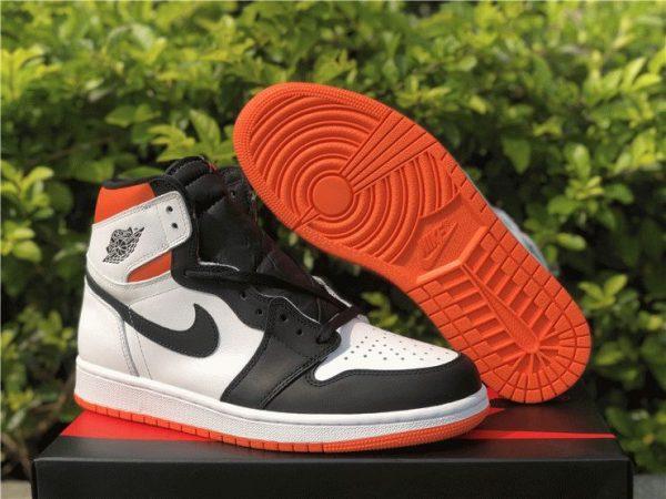 Jordan 1 High OG GS Electro Orange shoes