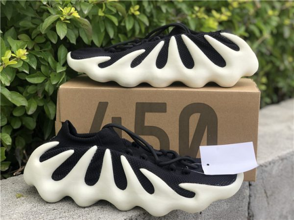 adidas Yeezy 450 Cloud Black close look