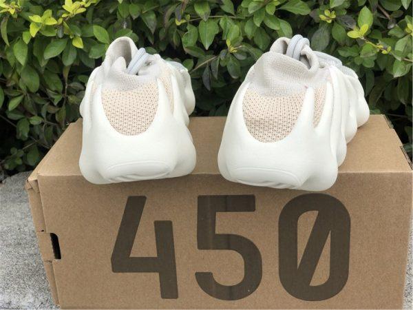 adidas Yeezy 450 Cloud White H68038 back