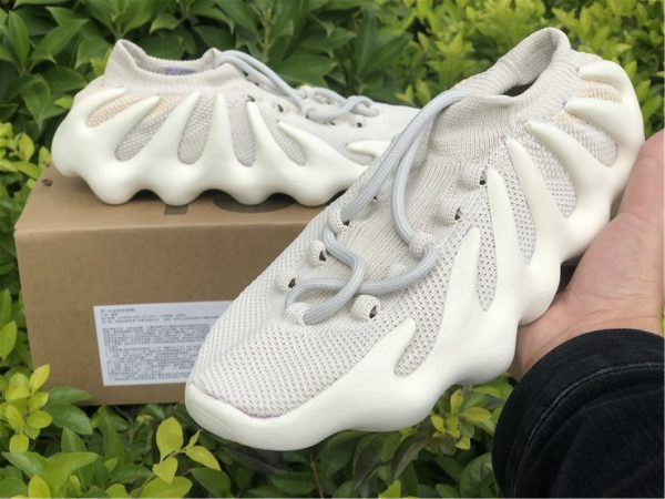adidas Yeezy 450 Cloud White H68038 close look
