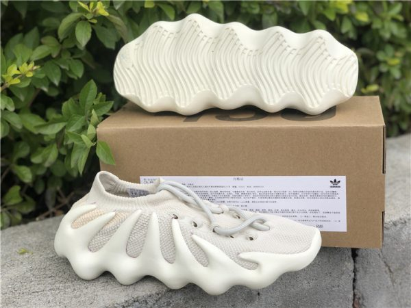 adidas Yeezy 450 Cloud White H68038 underfoot