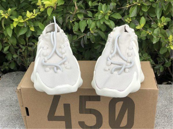 adidas Yeezy 450 Cloud White H68038 vamp