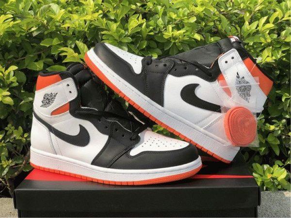 mens Air Jordan 1 High OG GS Electro Orange