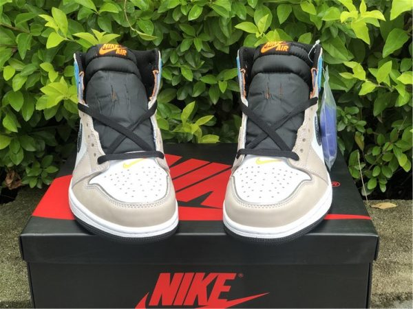 Air Jordan 1 High OG Pro Multi-Color black tongue