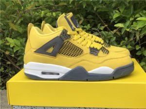 Air Jordan 4 Retro Lightning Yellow