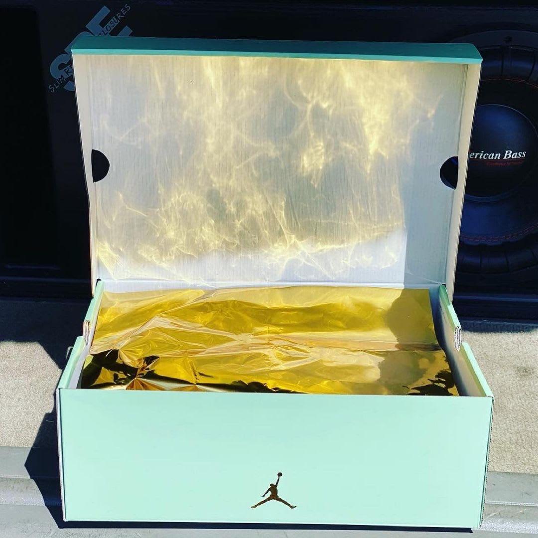 Aleali May Air Jordan 14 Low box look