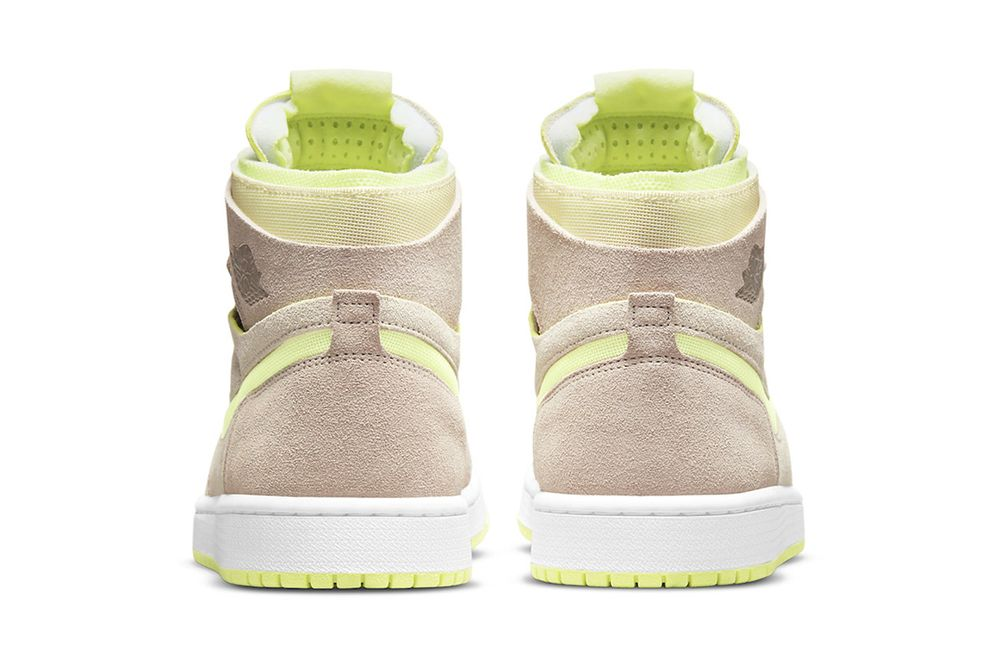 Lemon Twist Air Jordan 1 back heel